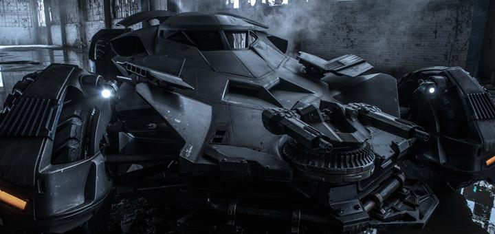 Official Full Photo of Batmobile from Batman v Superman!