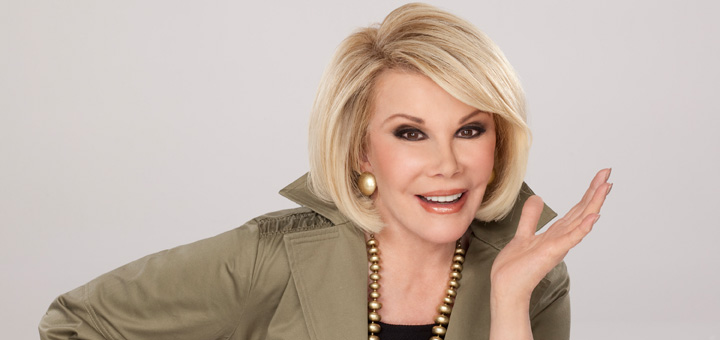 Comedy Legend Joan Rivers Dies at 81