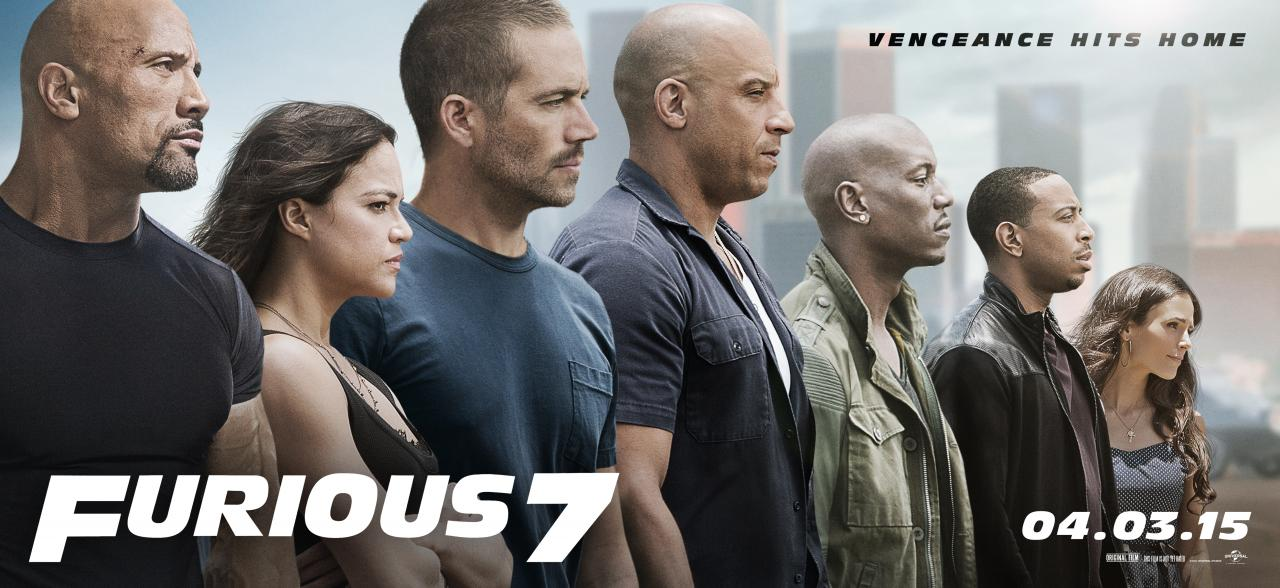 First Official Poster for Furious 7