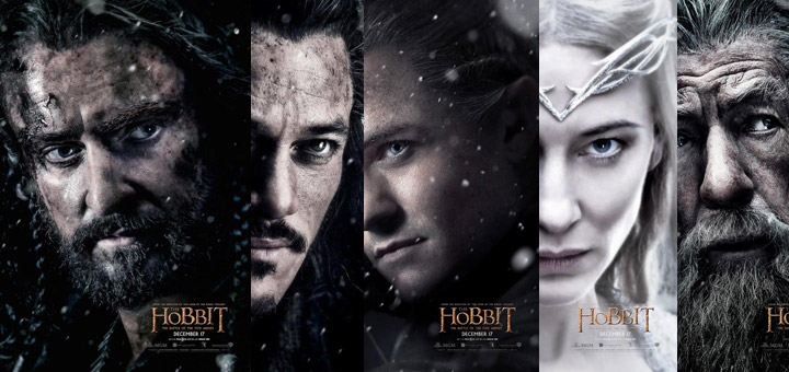 New The Hobbit: The Battle of the Five Armies Character Posters!