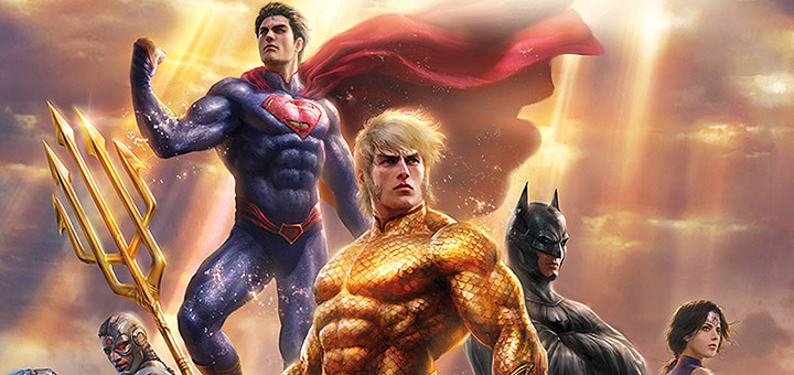 Justice League: Throne of Atlantis Trailer, Blu-ray Details and Cover Artwork