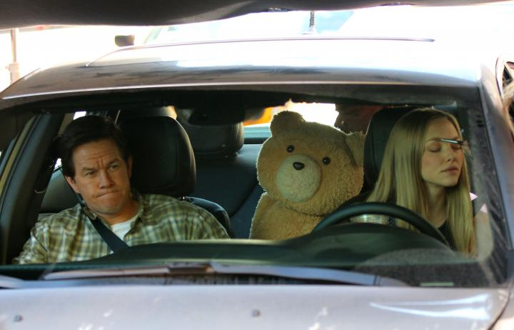 Ted 2: New Set Photos of Mark Wahlberg and Amanda Seyfried