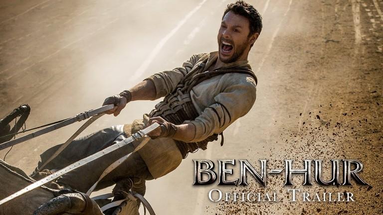 Ben-Hur Remake Trailer Hits