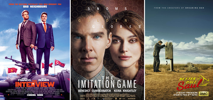New Posters for Better Call Saul, Insurgent, Imitation Game and More