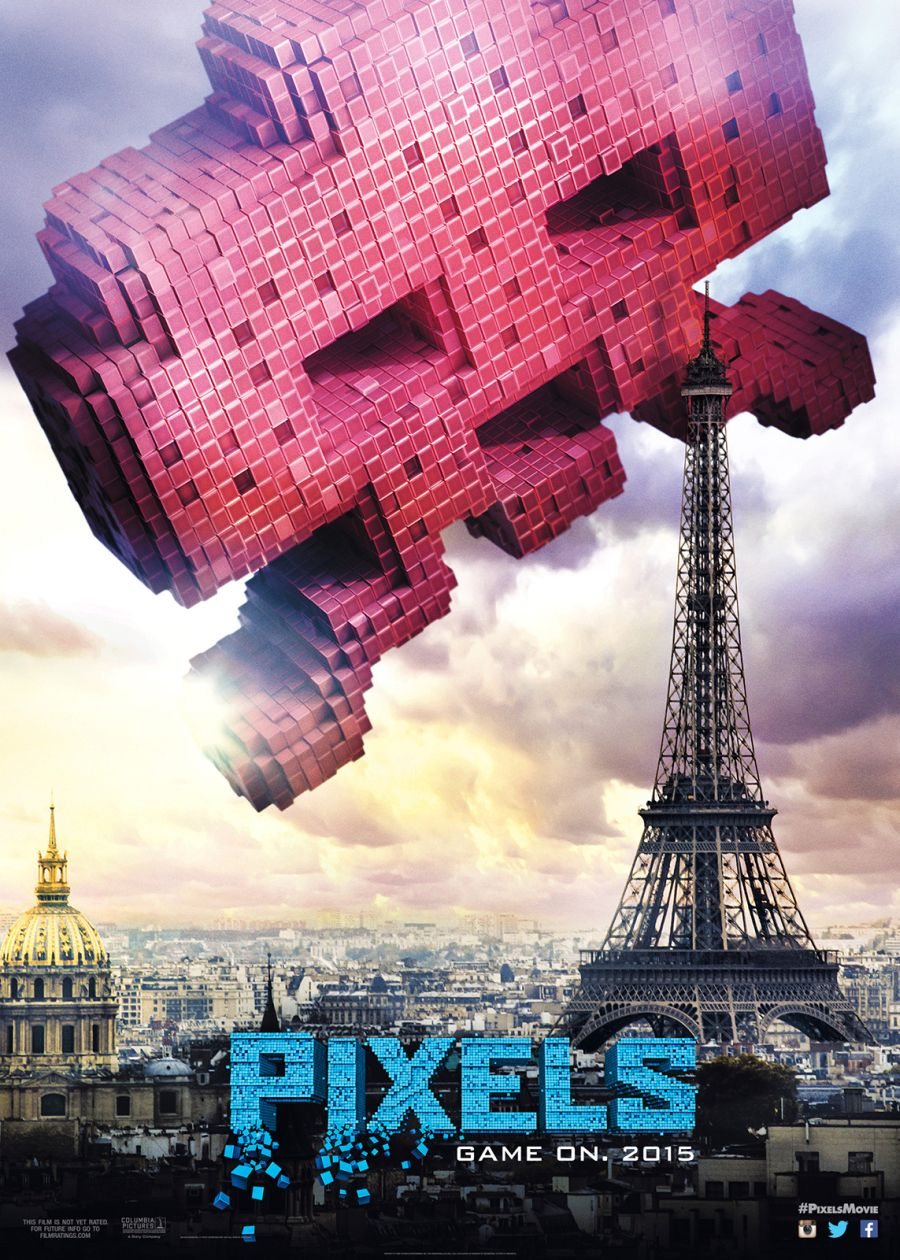 Five Character Posters for Adam Sandler's Pixels