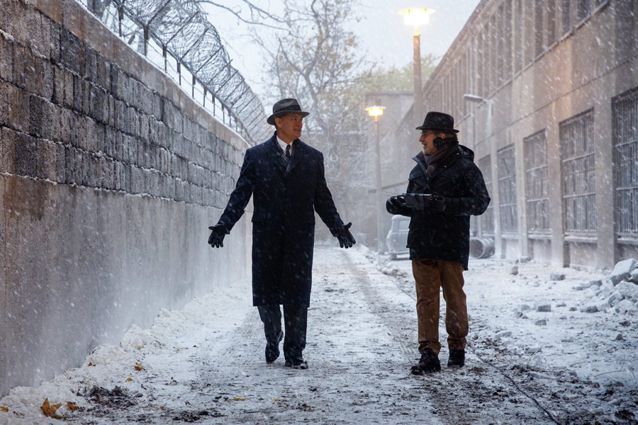 First Look: Tom Hanks in Steven Spielberg's Cold War Thriller