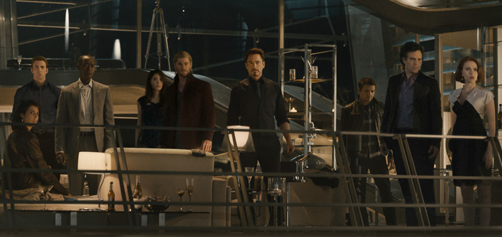 New Avengers: Age of Ultron Trailer to Premiere January 12