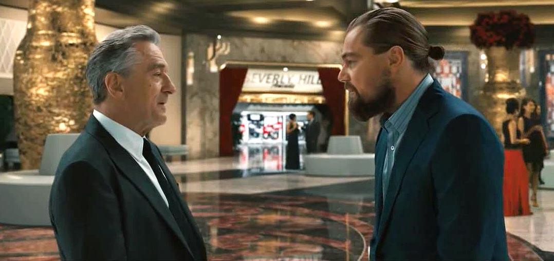 DiCaprio and De Niro Audition for Scorsese in Studio City TV Ad