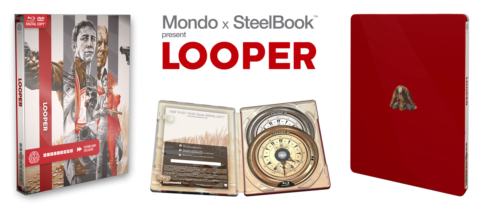 Looper Mondo SteelBook Available February 24