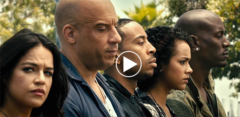 Furious 7 Super Bowl Spot