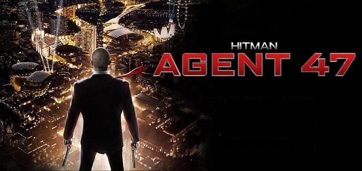Hitman Movie Poster Hitman: Agent 47 Trail...