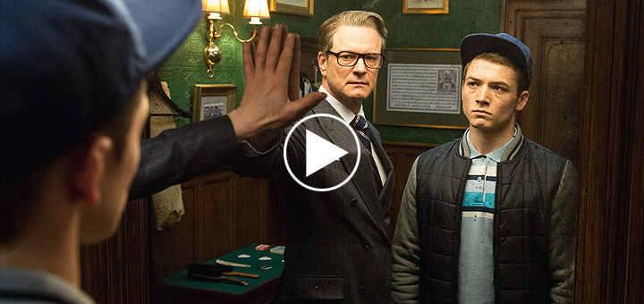 Kingsman: The Secret Service Super Bowl Spot