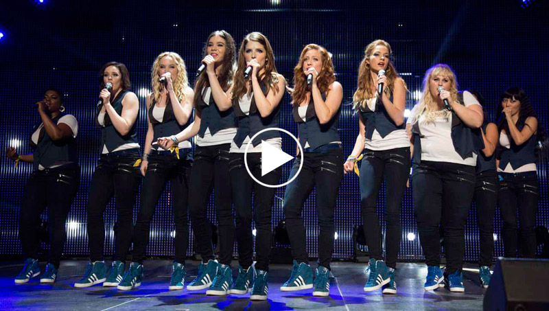 Pitch Perfect 2 Super Bowl Spot