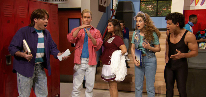 Saved By The Bell Cast Reunites on The Tonight Show Starring Jimmy Fallon