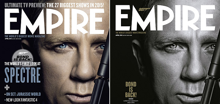 Spectre: James Bond Covers Empire Magazine
