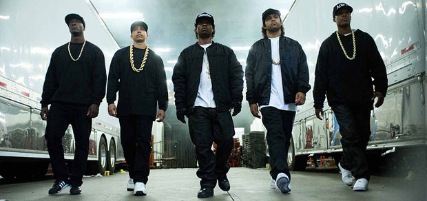 Red Band Trailer and Poster for Straight Outta Compton!