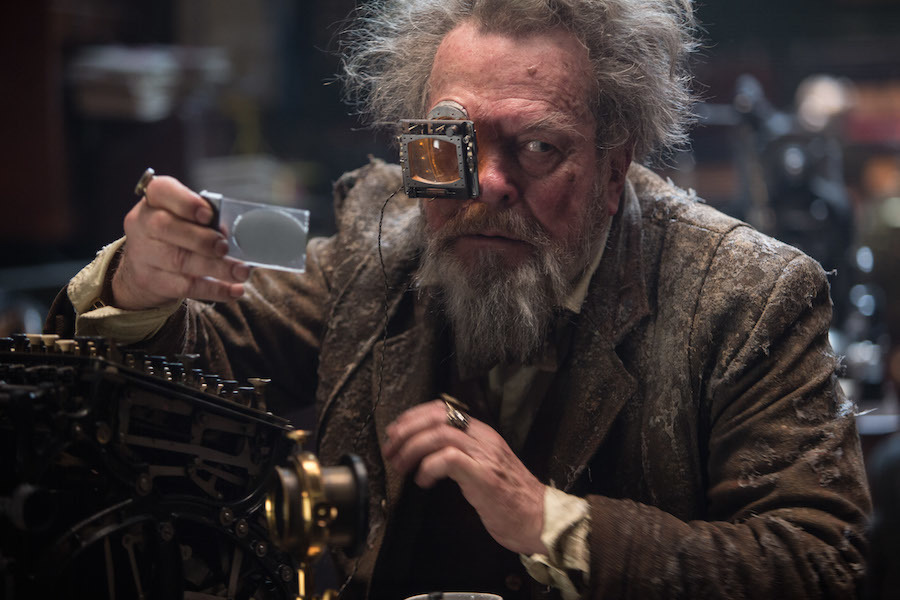 Photo: Terry Gilliam's Cameo in Jupiter Ascending