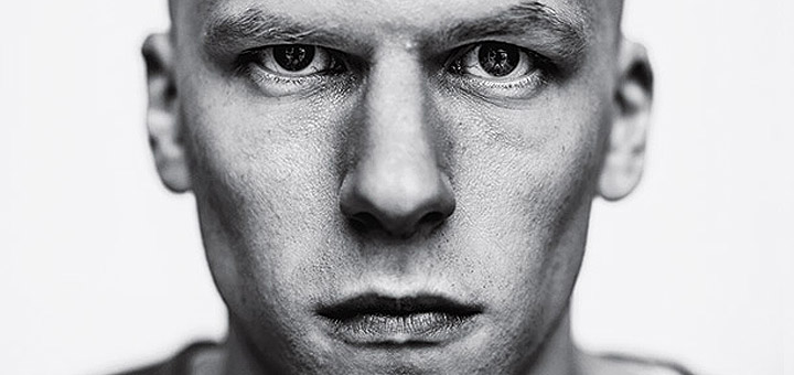 First Look: Jesse Eisenberg as Lex Luthor in Batman v Superman: Dawn of Justice