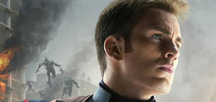 Captain America Character Poster for Avengers: Age of Ultron