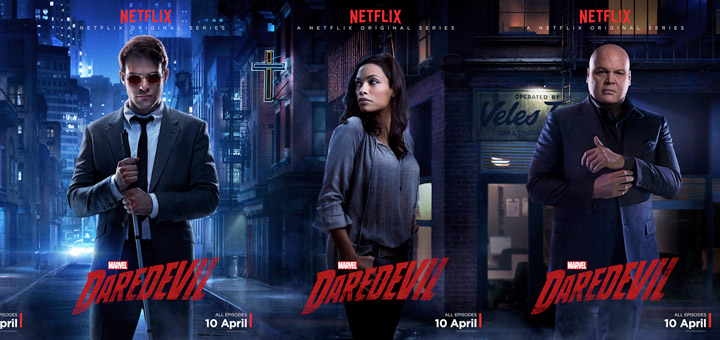 Five Character Posters for Marvel's Daredevil