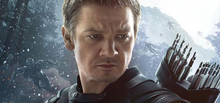 Hawkeye Character Poster for Avengers: Age of Ultron