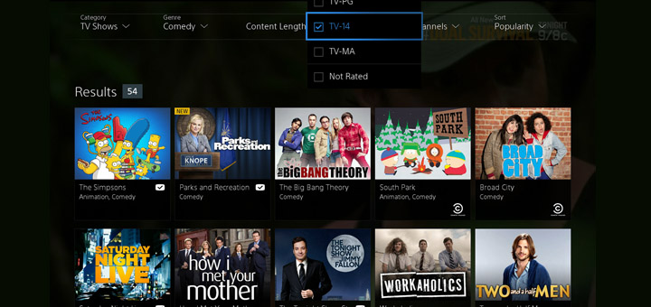 PlayStation Vue Launches in Three U.S. Cities