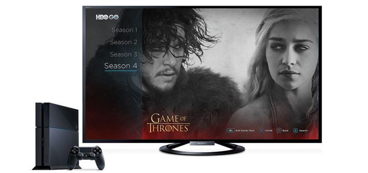HBO GO Available on PS4 Today