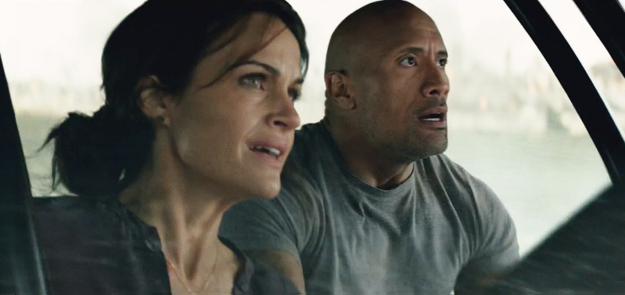 California Crumbles in the New San Andreas Trailer