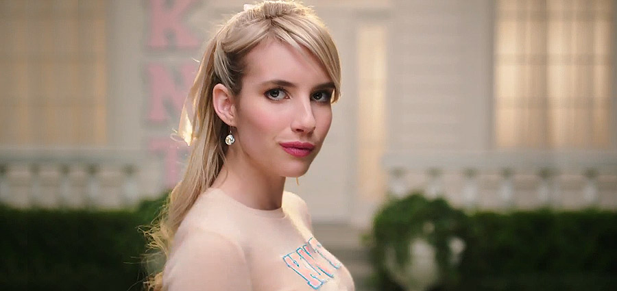 New Teaser Trailer for Scream Queens, Featuring Emma Roberts