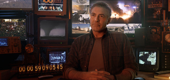 New Trailer for Tomorrowland, Starring George Clooney and Britt Robertson