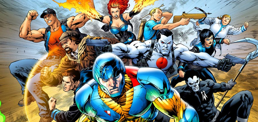 Valiant and DMG to Develop Comic Book Films, TV