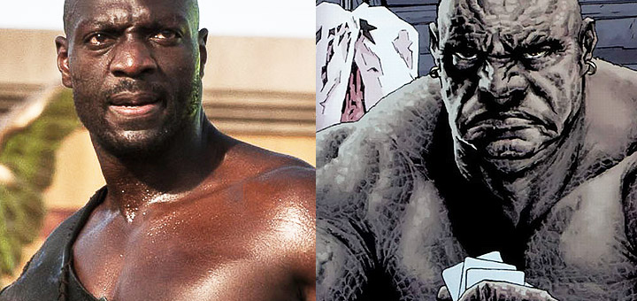 Adewale Akinnuoye-Agbaje is Killer Croc in Suicide Squad