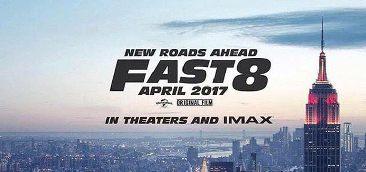 First 'Fast 8' Poster: All Roads Lead to New York