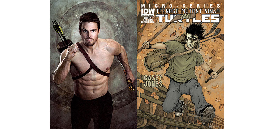 Arrow's Stephen Amell is Casey Jones in Teenage Mutant Ninja Turtles 2