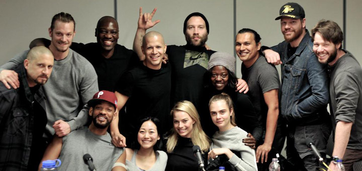 Suicide Squad Cast Photo, Adam Beach and Ike Barinholtz Join