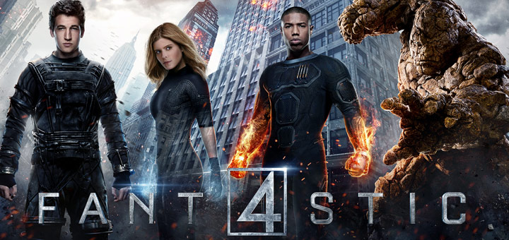 New Fantastic Four Character Posters