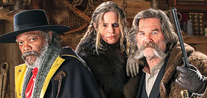 Quentin Tarantino's The Hateful Eight Covers EW