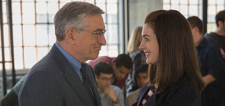 First Trailer for The Intern, Starring Robert De Niro and Anne Hathaway