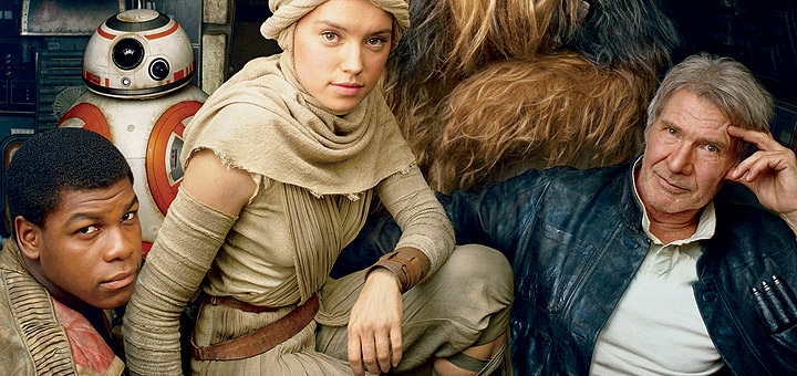 Star Wars: The Force Awakens Covers Vanity Fair
