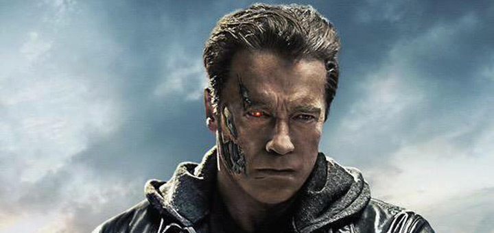Five Terminator Genisys Character Posters