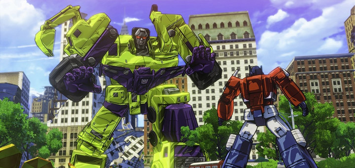 First Look: Transformers: Devastation Game