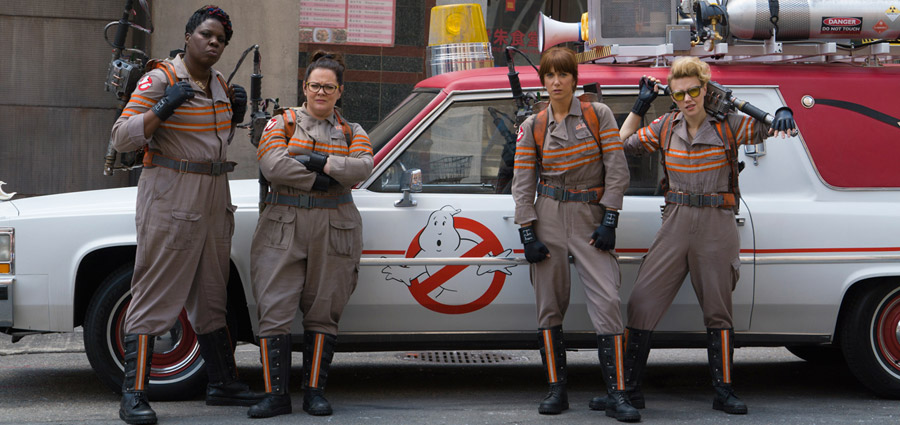 See the First Official Photo of the New Ghostbusters Cast