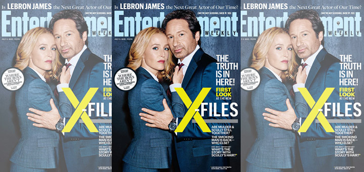 First Official Photos From The X-Files Series Revival