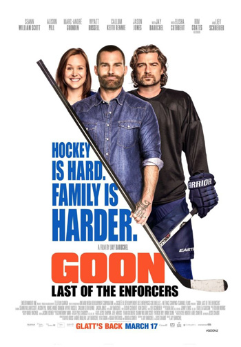 Goon 2 movie poster