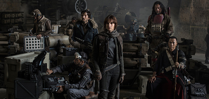 Star Wars: Rogue One Official Cast Photo and Banner