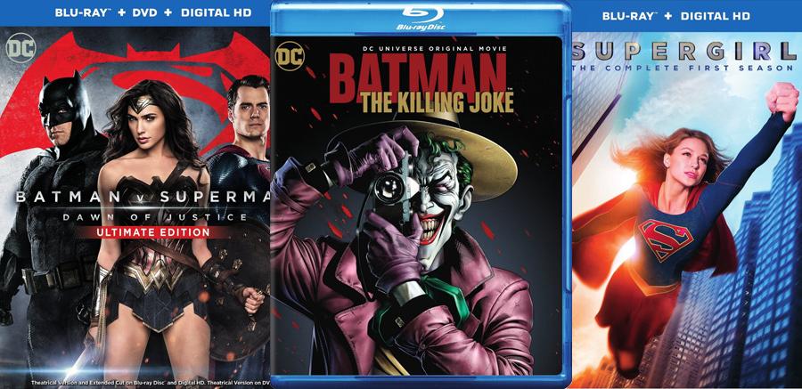Blu-ray and DVD Calendar Update
