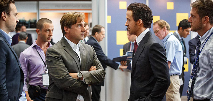 Watch The Big Short Trailer Featuring Bale, Carell, Gosling and Pitt
