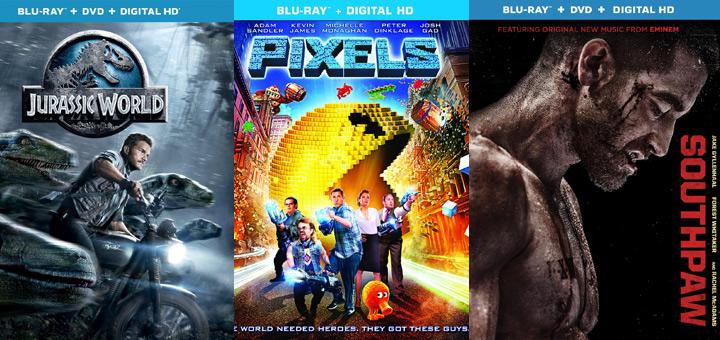 Blu-ray and DVD Release Calendar Update