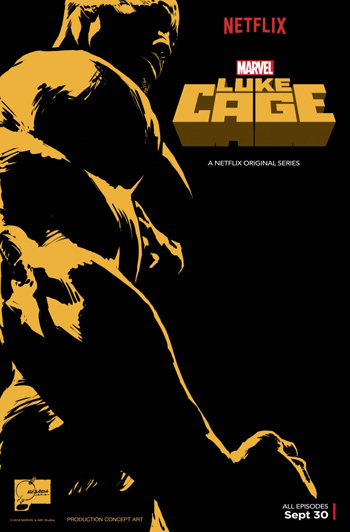 Marvel's Luke Cage movie poster