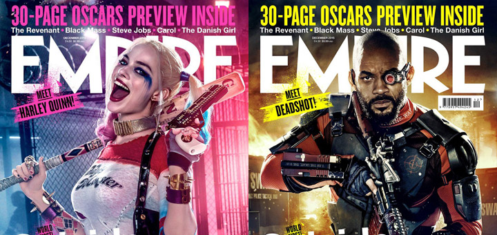 Suicide Squad: Harley Quinn and Deadshot Empire Covers Released